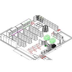 Пример проектирования предприятий торговли - №2
