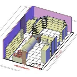 Пример проектирования предприятий торговли - №4